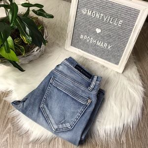 Rock & Republic Size 6 Distressed Cropped Jeans